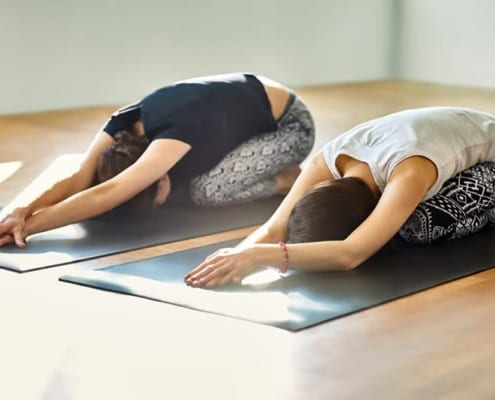 Yin yoga sessions at The Karma Studio in their Bayside Melbourne suburb of Sandringham, can help your body and your mind.