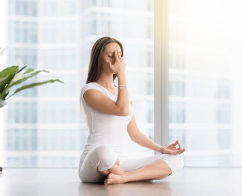Beating The Heat With Pranayama Scaled - Meditation Services