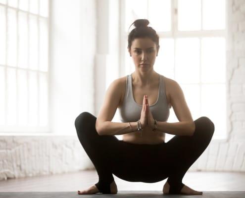 Shifting World Strike A Yoga Pose -